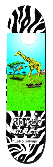 jirafa patineta ARIZALETA web